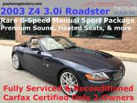 Used 2003 BMW Z4 3.0i Roadster For Sale | West Chester PA