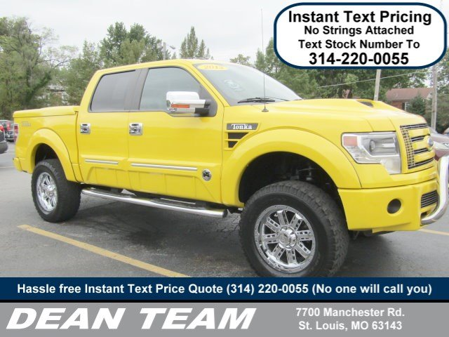 Photo Used 2013 Ford F-150 Tonka 4WD SuperCrew 145 FX4 in St. Louis, MO