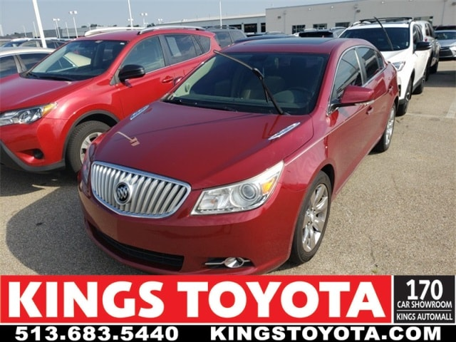 Photo Used 2010 Buick Lacrosse CXS Sedan in Cincinnati, OH