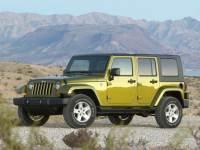 2010 Jeep Wrangler Unlimited Sahara SUV 4WD