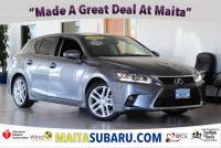 Used 2014 LEXUS CT 200h Hybrid Available in Sacramento CA