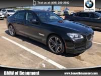 2014 BMW 7 Series 750i Sedan Rear-wheel Drive in Beaumont, TX