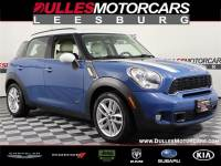 2012 MINI Cooper S Countryman ALL4 SUV