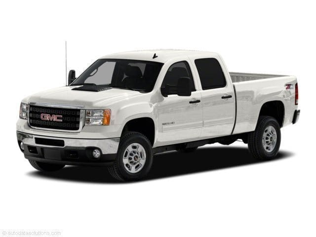 Photo Used 2011 GMC Sierra 2500HD SLE Truck Crew Cab V-8 cyl For Sale in Surprise Arizona