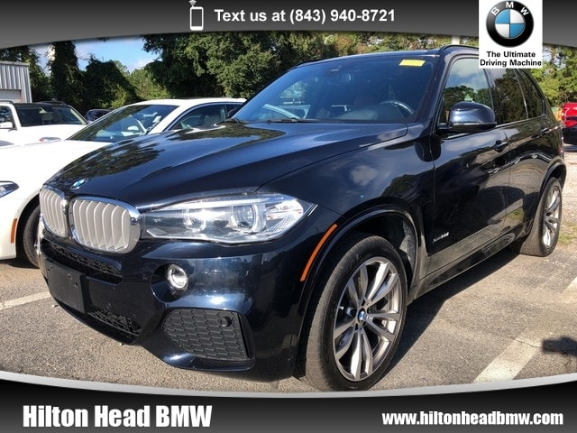 Photo 2016 BMW X5 xDrive50i xDrive50i  BMW CPO Warranty  One Owner  M Sport SAV All-wheel Drive
