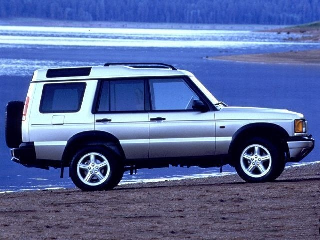 Photo 2000 Land Rover Discovery Series II wCloth Wagon