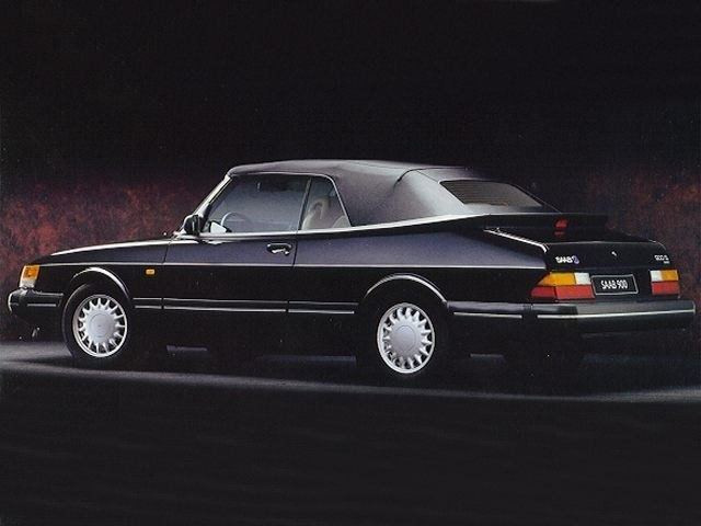 Photo 1992 Saab 900 S Convertible