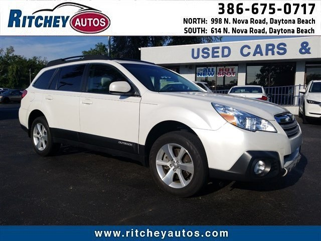 Photo Certified Pre-Owned 2013 Subaru Outback 3.6R Limited in Daytona Beach, FL