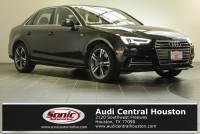 Certified Used 2018 Audi A4 2.0T Premium Sedan in Houston, TX
