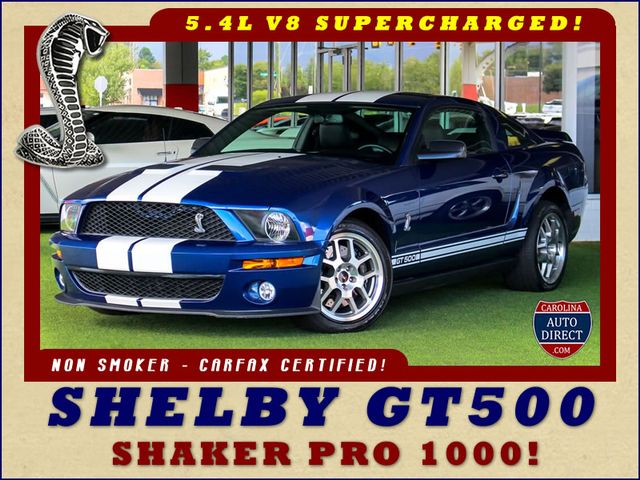 Photo 2007 Ford Mustang Shelby GT500 - SUPERCHARGED - SHAKER 1000 SOUND