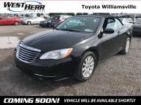 2012 Chrysler 200 Touring Convertible For Sale - Serving Amherst