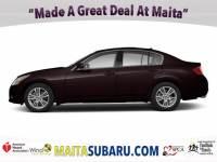 Used 2012 INFINITI G37 Sedan x Available in Sacramento CA