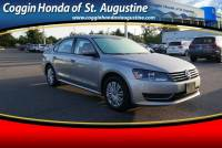 Pre-Owned 2014 Volkswagen Passat 1.8T S Sedan in Jacksonville FL