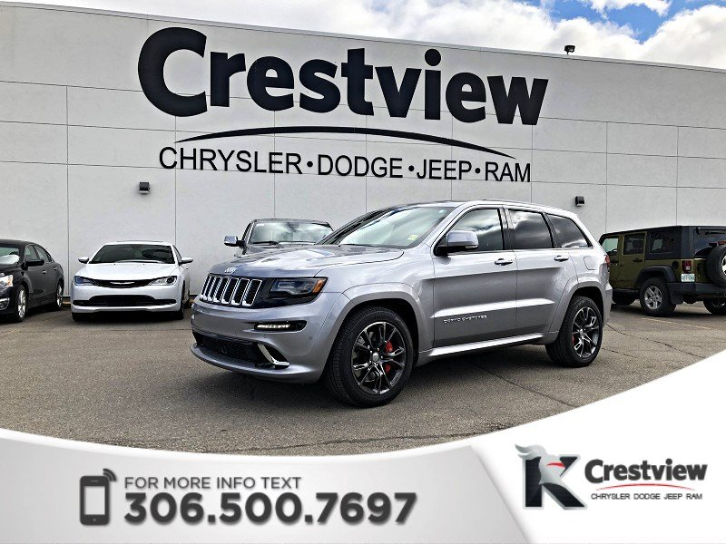 Photo Certified Pre-Owned 2016 Jeep Grand Cherokee SRT 6.4L Hemi  Sunroof  Navigation  COMING SOON 4WD Sport Utility