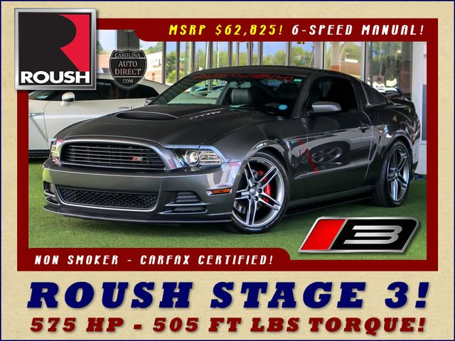 Photo 2014 Ford Mustang GT Premium ROUSH STAGE 3 - 6SP MANUAL