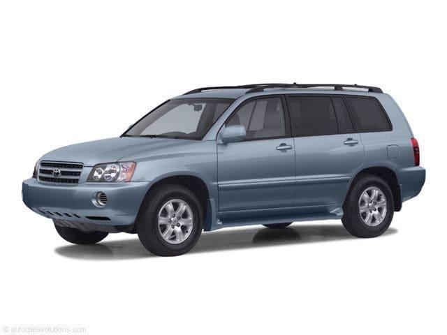 Photo 2003 Toyota Highlander SUV