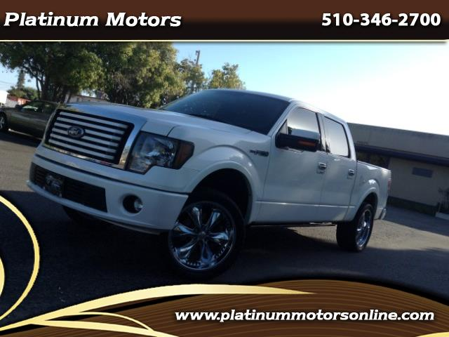 Photo 2011 Ford F-150 Lariat Limited Crew Cab  White Diamond Pearl  We