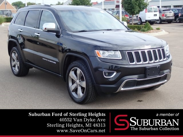 Photo 2014 Jeep Grand Cherokee Limited SUV V8 Multi Displacement VVT