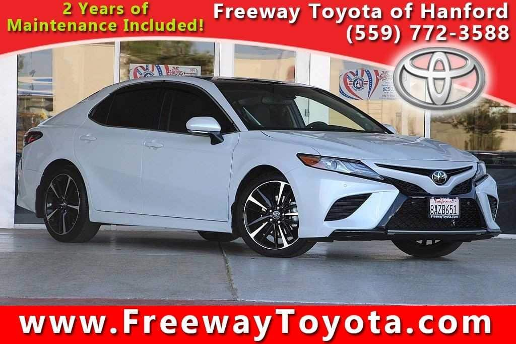 Photo 2018 Toyota Camry XSE Sedan Front-wheel Drive - Used Car Dealer Serving Fresno, Central Valley, CA