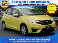 Certified Pre-Owned 2016 Honda Fit LX Hatchback near Westborough, MA
