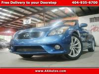 2012 Infiniti G37 Convertible 2dr Base