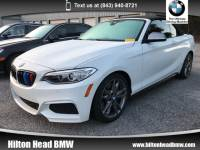 2017 BMW M240i Convertible M240i * BMW CPO Warranty * One Owner * Navigation Convertible Rear-wheel Drive