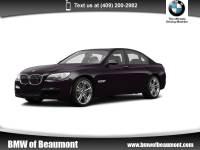 2014 BMW 750i Sedan 750i Sedan Rear-wheel Drive