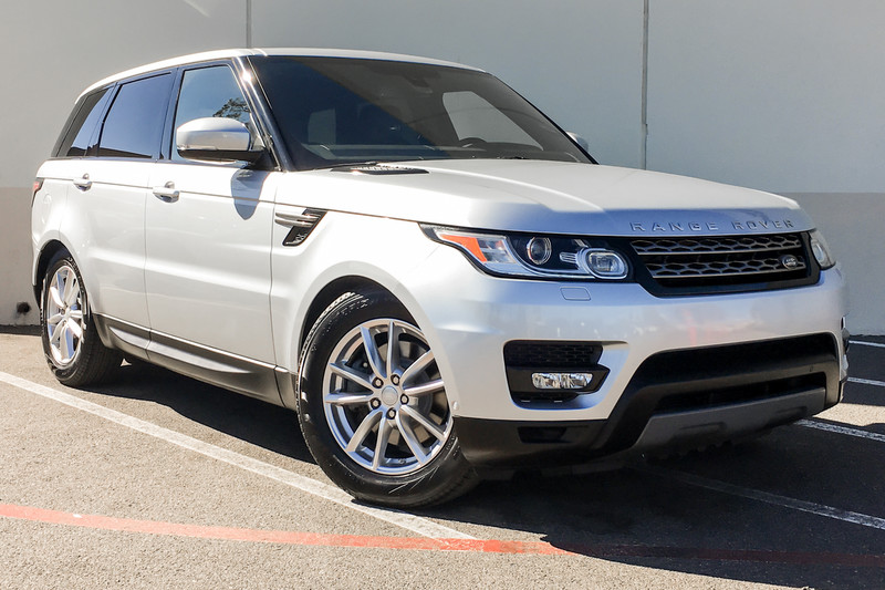 Photo Certified Pre-Owned 2015 Land Rover Range Rover Sport SE Four Wheel Drive SUV