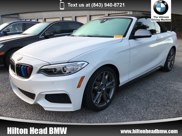 Photo 2017 BMW M240i Convertible M240i  BMW CPO Warranty  One Owner  Navigation Convertible Rear-wheel Drive