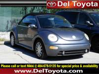 Used 2005 Volkswagen New Beetle Convertible GLS For Sale | Serving Thorndale, West Chester, Thorndale, Coatesville, PA | VIN: 3VWCM31Y85M365776