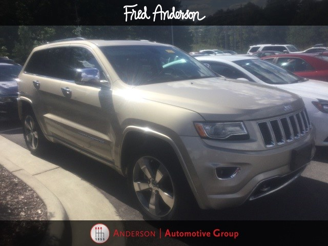 Photo Pre-Owned 2015 Jeep Grand Cherokee Overland SUV For Sale  Raleigh NC
