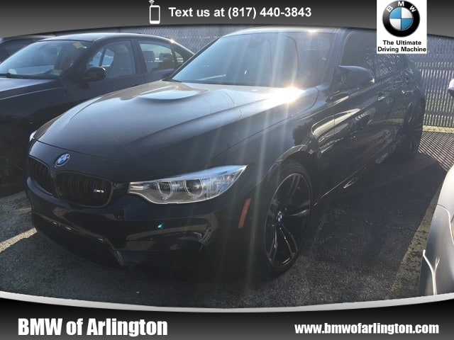 Photo Used 2016 BMW M3 Sedan Rear-wheel Drive in Arlington