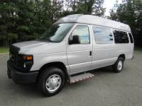2014 Ford E-350 Extended Hightop Wheelchair ParaTransit Commercial