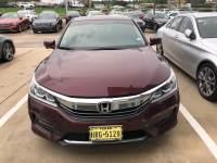 Pre-Owned 2016 Honda Accord Sedan EX Front Wheel Drive Cars
