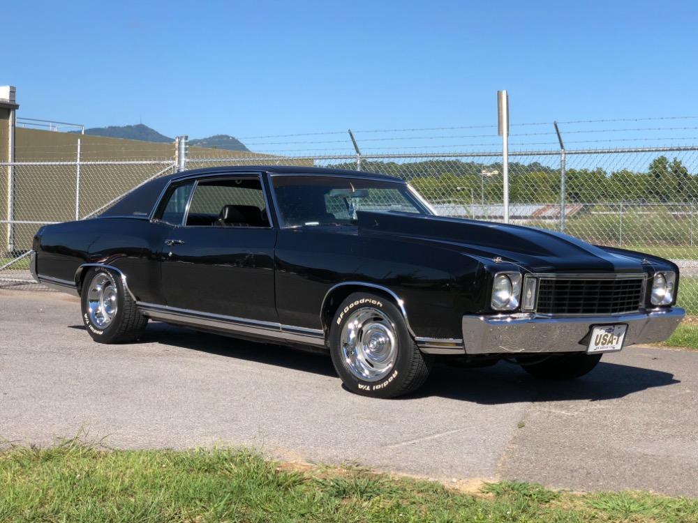 Photo 1972 Chevrolet Monte Carlo -LS5-TRIPLE BLACK-WOW 496 BIG BLOCK POWER-SEE VIDEO
