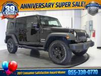 Pre-Owned 2016 Jeep Wrangler JK Unlimited Sport 4X4 SUV 4x4 Fort Wayne, IN