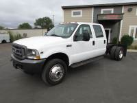 Used 2002 Ford F-450 4x4 Crew -Cab Cab-Chassis