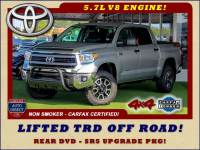 2014 Toyota Tundra SR5 Upgrade CrewMax 4x4 TRD OFF ROAD - LIFTED!
