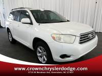 Pre-Owned 2009 Toyota Highlander Base SUV in Greensboro NC