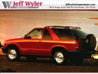 1996 Chevrolet Blazer Sport Utility