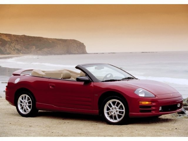 Photo Used 2001 Mitsubishi Eclipse Spyder For Sale  CT