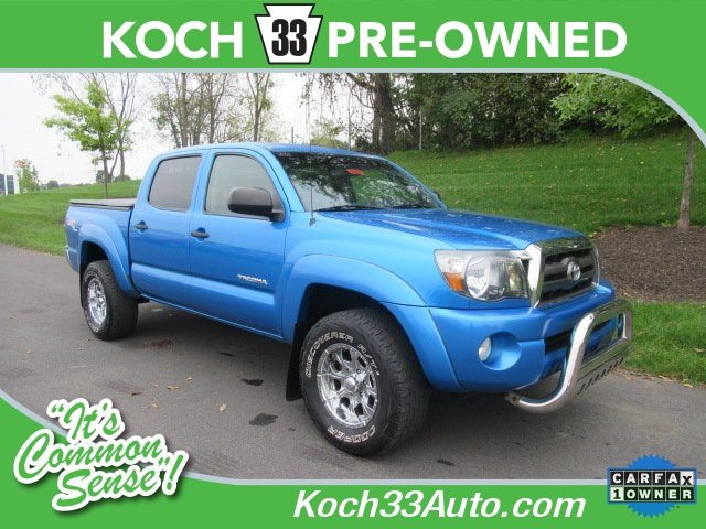 Photo Pre-Owned 2009 Toyota Tacoma TRD OFF ROAD 4D Double Cab 4WD