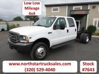 Used 2002 Ford F-450 4x4 Cab Chassis