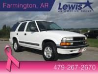 Used 2000 Chevrolet Blazer SUV in Fayetteville