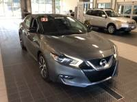 Used 2017 Nissan Maxima SL TECHNOLOGY LIFETIME POWER TRAIN WARRANTY Sedan near Providence RI