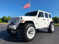 Used 2018 Jeep All-New Wrangler Unlimited JL WHITE-OUT CUSTOM LIFTED LEATHER HARDTOP