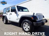 2015 Jeep Wrangler Unlimited Sport RHD