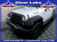 2016 Jeep Wrangler Unlimited Sport 4X4 SUV near Houston