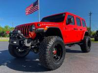 Used 2018 Jeep All-New Wrangler Unlimited RUBICON PUNKN CUSTOM LIFTED LEATHER HARDTOP