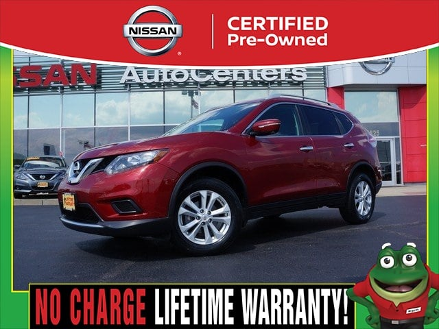 Photo Certified Used 2015 Nissan Rogue SV AWD - CERTIFIED PRE OWNED For Sale